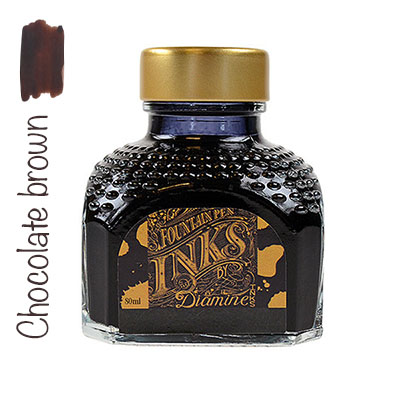 Tinta Diamine Chocolate Brown