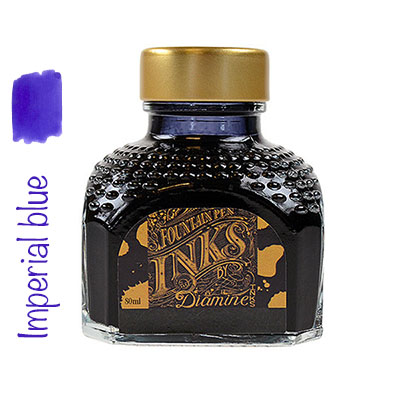Tinta Diamine Imperial Blue