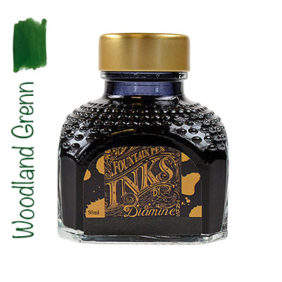 Tinta Diamine Woodland Green