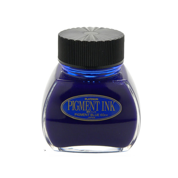 Tinteros de Tinta Pigmentada Platinum Azul