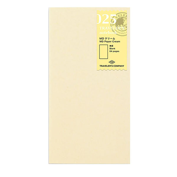 TN 025 Regular MD Papel Crema 1