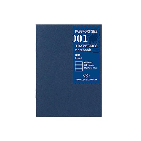 TN Passport 001- Papel rayado MD