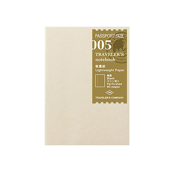 TN Passport 005 Papel ligero liso