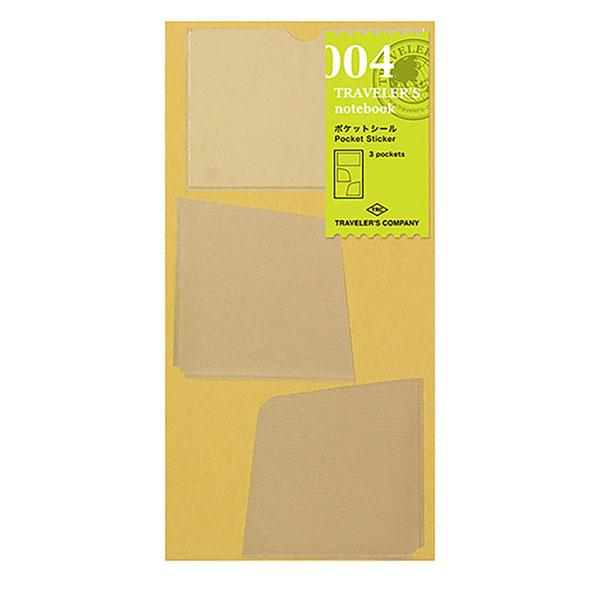 TN Regular 004 Bolsillos adhesivos 1