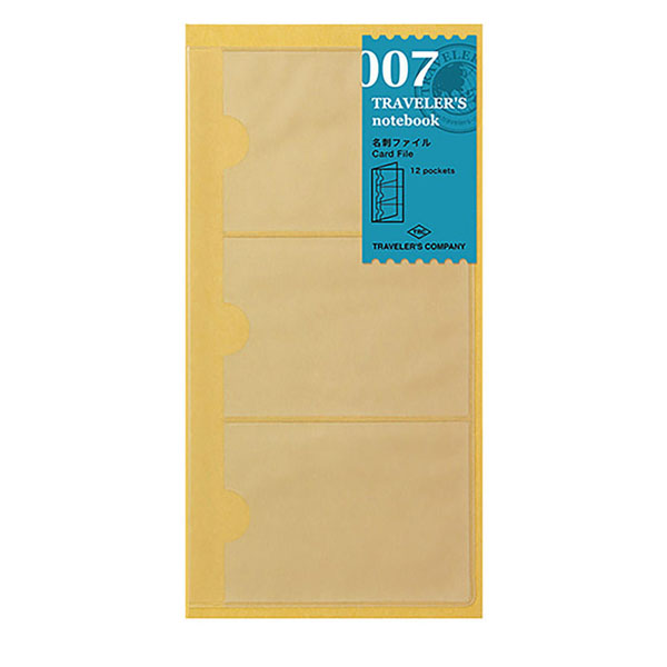 TN Regular 007 Refill Card File