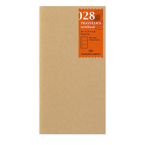TN Regular 028 Refill Card File