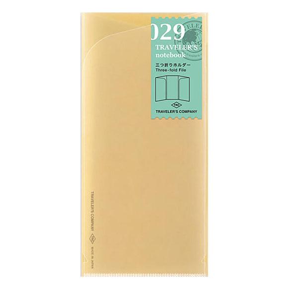 TN Regular 029 Refill Three-fold File 1