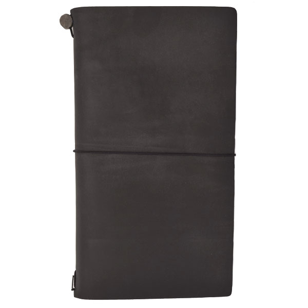 Traveler's Notebook Black (Regular)