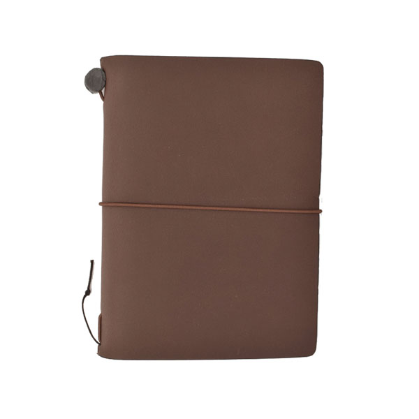 Midori Traveler's Notebook Marrón (Passport)
