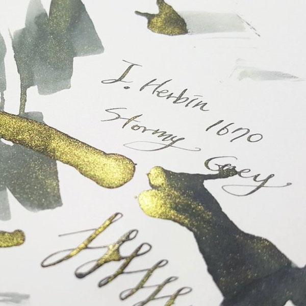 J.Herbin Stormy Grey