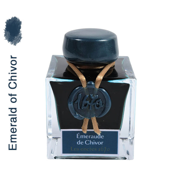J.Herbin Emerald of Chivor 1670 1