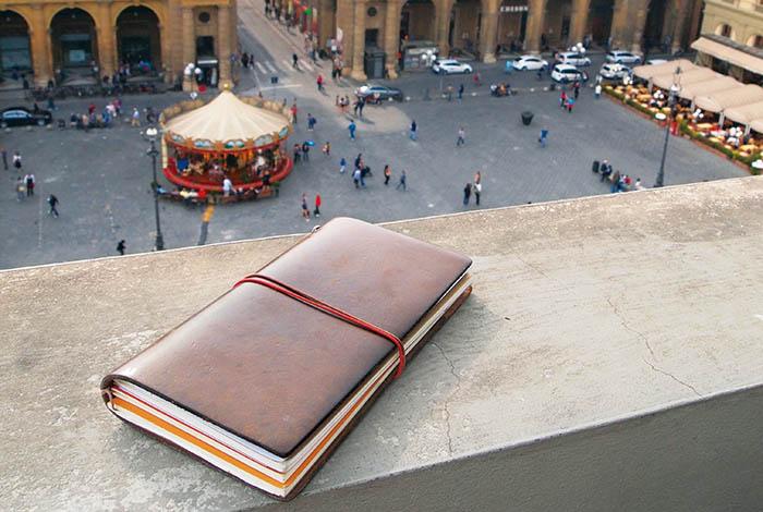 Guía cuaderno Midori Traveler's Notebook