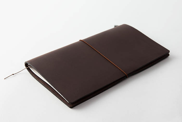 Midori Traveler's Notebook Marrón