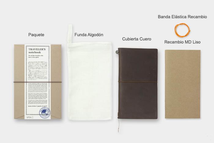 Midori Traveler's Notebook marron