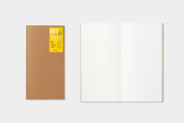 Recambio Recambio Midori Traveler's Notebook 01