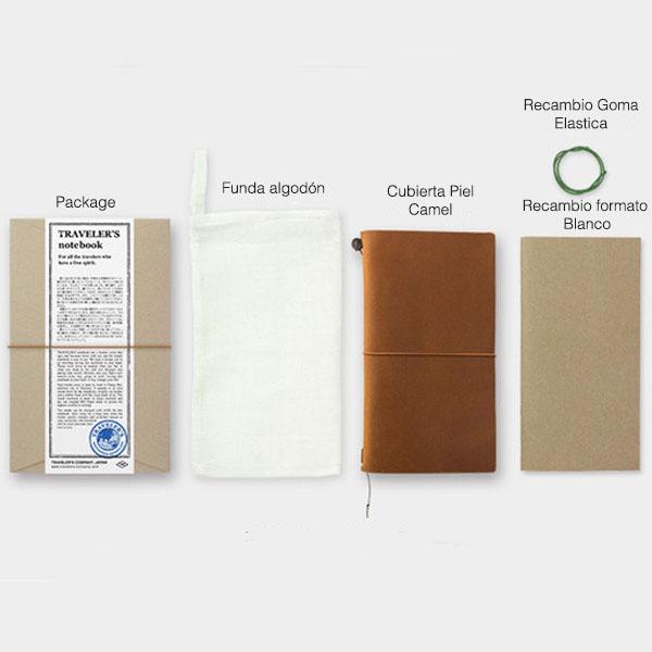 Midori Traveler's Notebook Camel