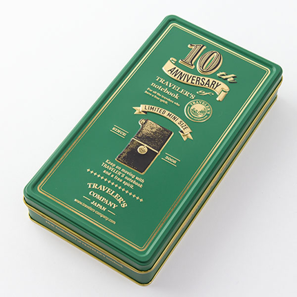 Midori Traveler's Notebook verde