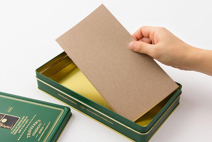 Midori Traveler's Notebook verde recambios