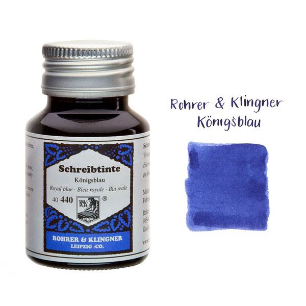 tinta Rohrer & Klingner Bleu Royal