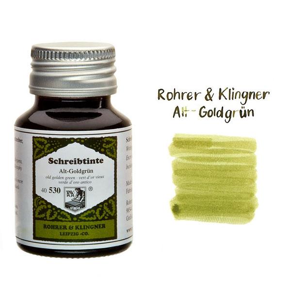Rohrer & Klingner Alt Goldgrün