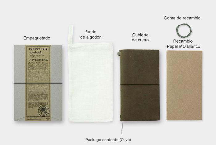 Midori Traveler Notebook Olive