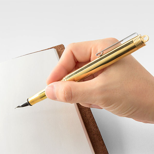 Midori Brass Fountain Pen