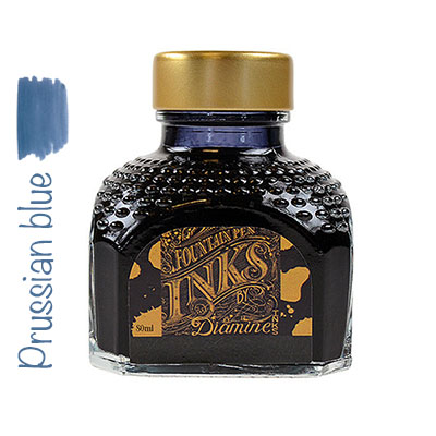 Tinta Diamine Prussian Blue