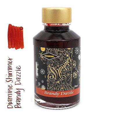 Diamine Shimmer Brandy Dazzle