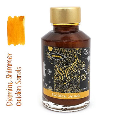 Diamine Shimmer Golden Sands