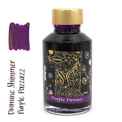 Diamine Shimmer Purple Pazzazz