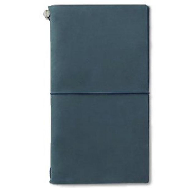 Midori Traveler Notebook Blue (Regular)