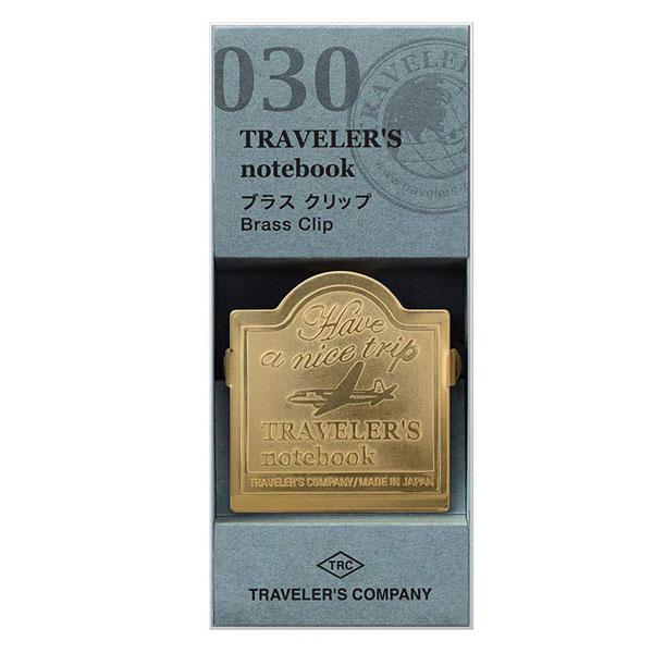 TRC 030 Brass Clip Airplane - Traveler's Company