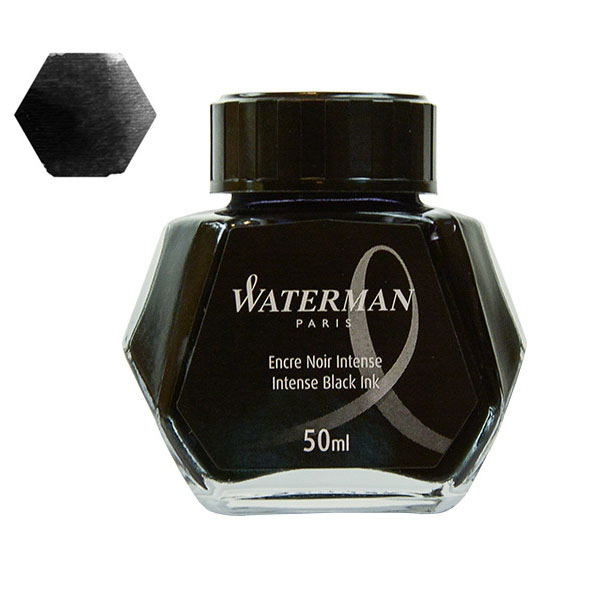 Tinta Waterman Negra 50 ml