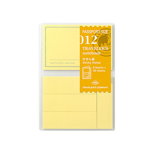 TN Passport 012 Sticky Memo Pad