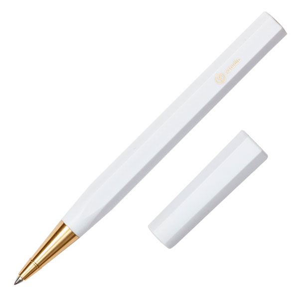 Ystudio Resin Rollerball blanco